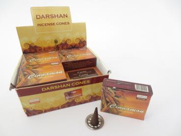 Darshan Räucherkegel Cinnamon